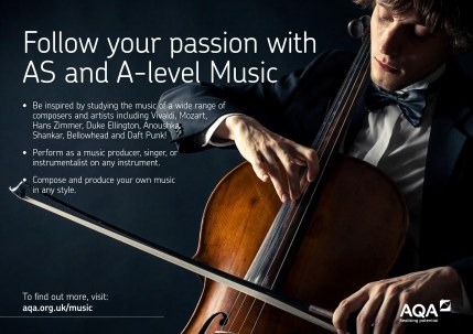 AQA AS and A level Music Passion Poster