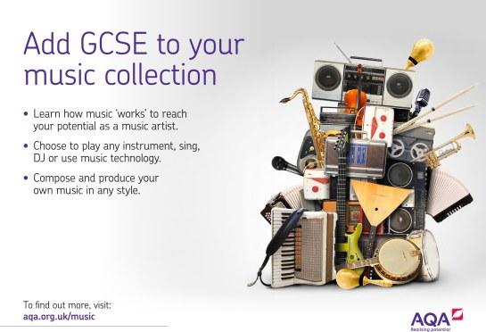 AQA GCSE Music Collection Poster