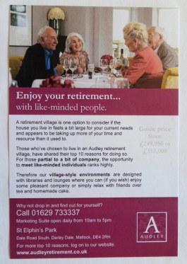 Audley St. Elphin's Park A5 Flyer