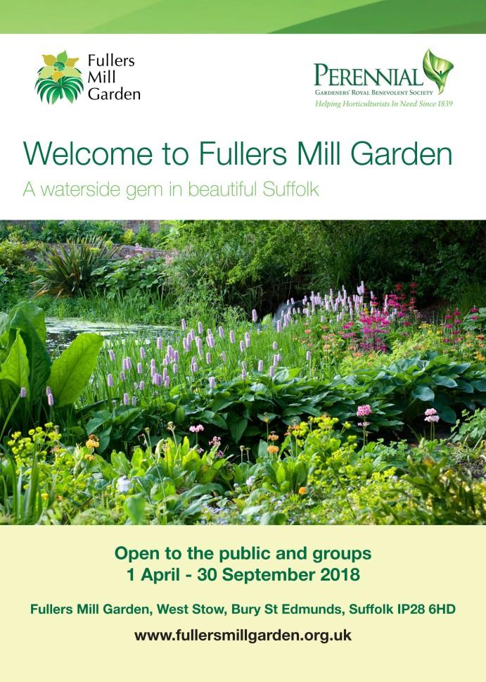 Fullers Mill Garden A5 Flyer
