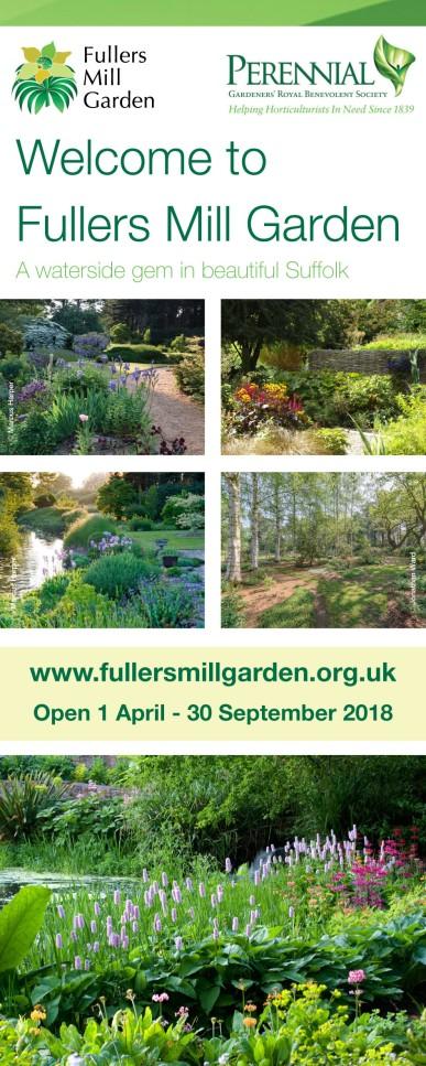 Fullers Mill Garden Pull-up Banner Design