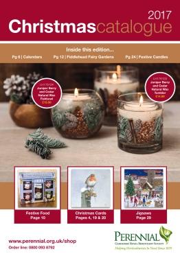 Perennial Christmas Catalogue 2017